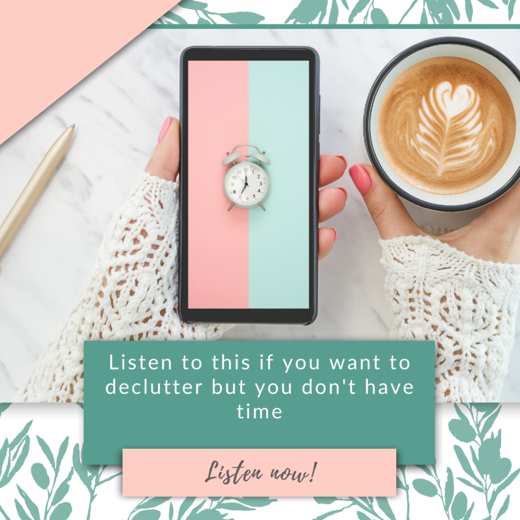 Listen to this if you want to declutter but you don't have time