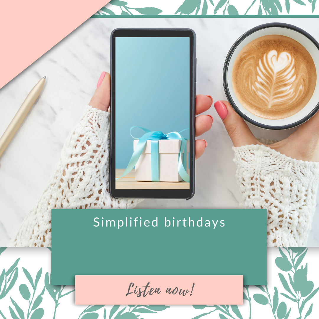 Simplified birthdays