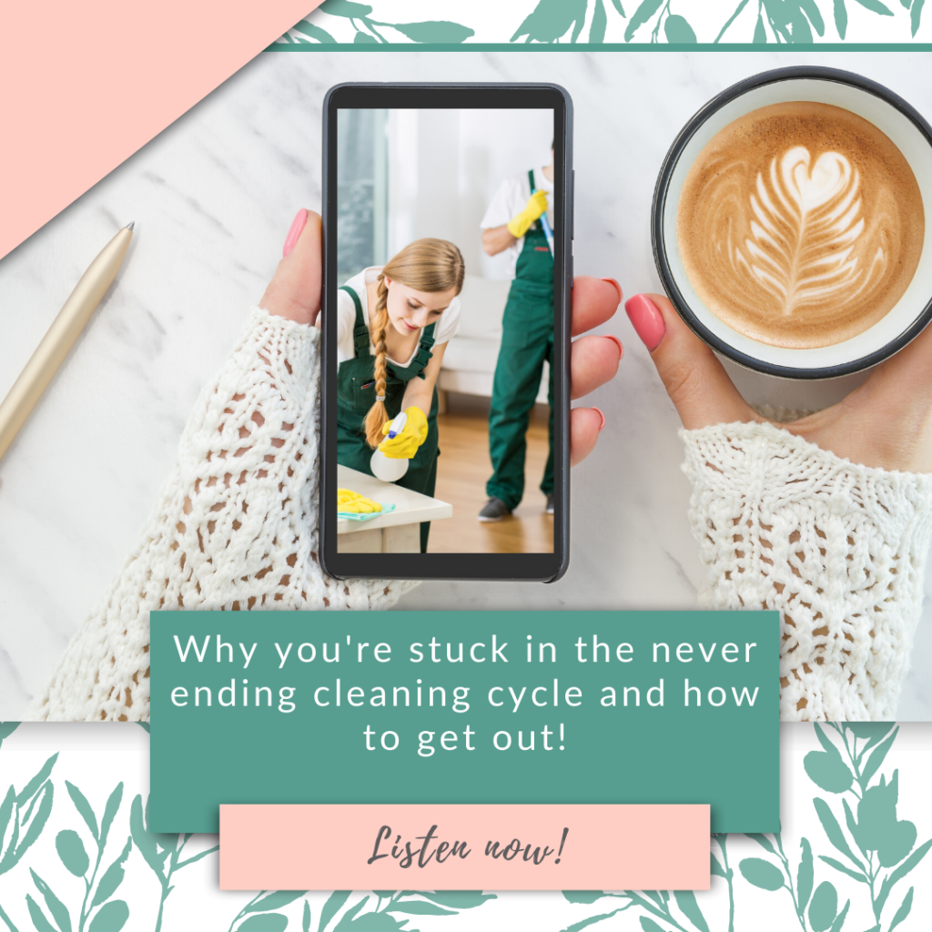 Why you're stuck in the never ending cleaning cycle and how to get out!