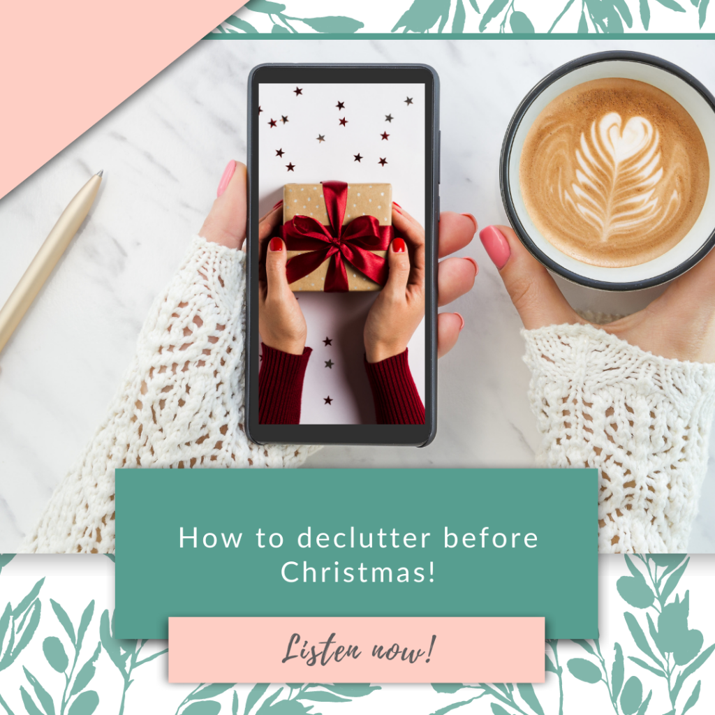 How to declutter before Christmas!