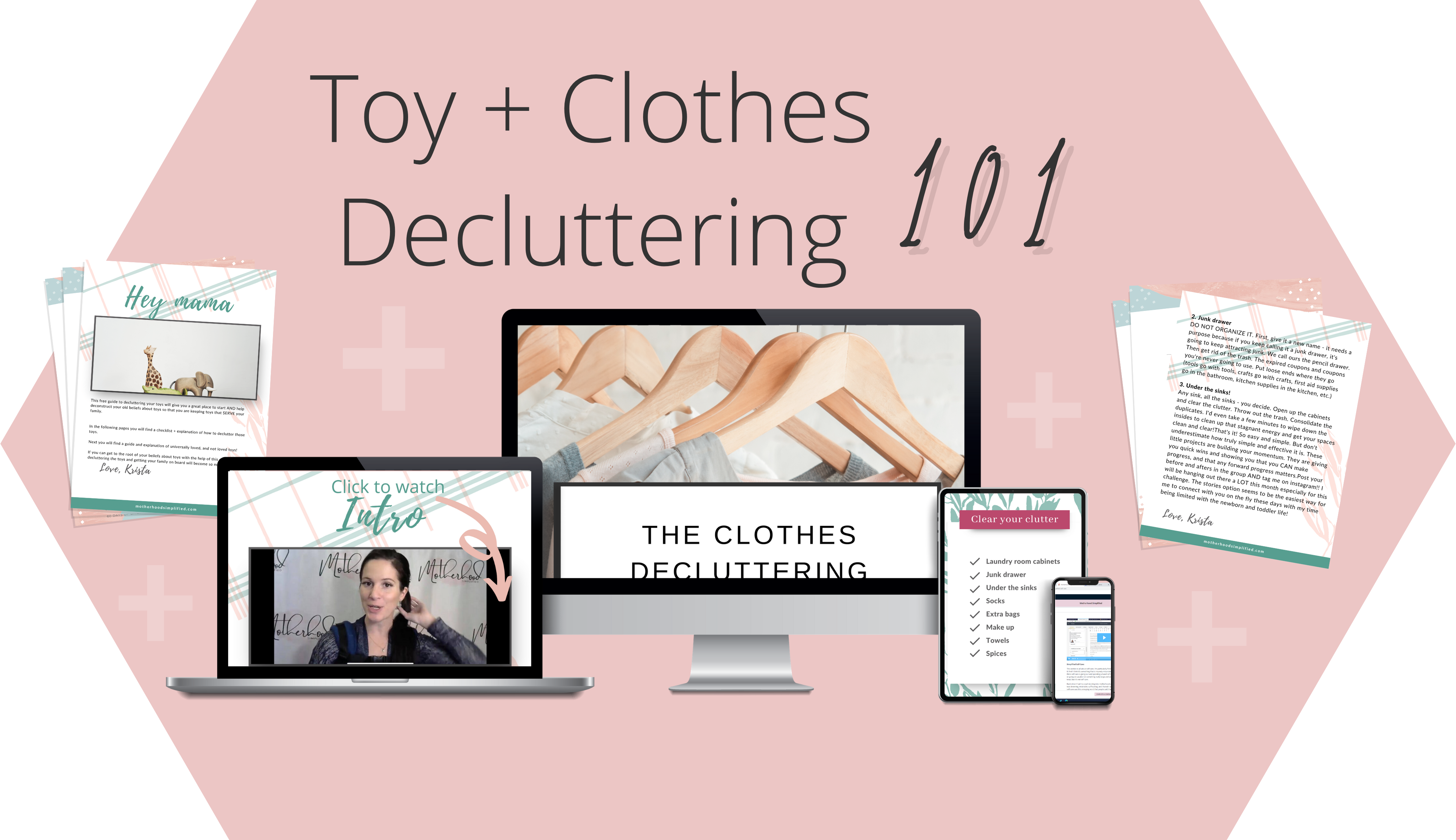 Toy + Clothes Decluttering 101