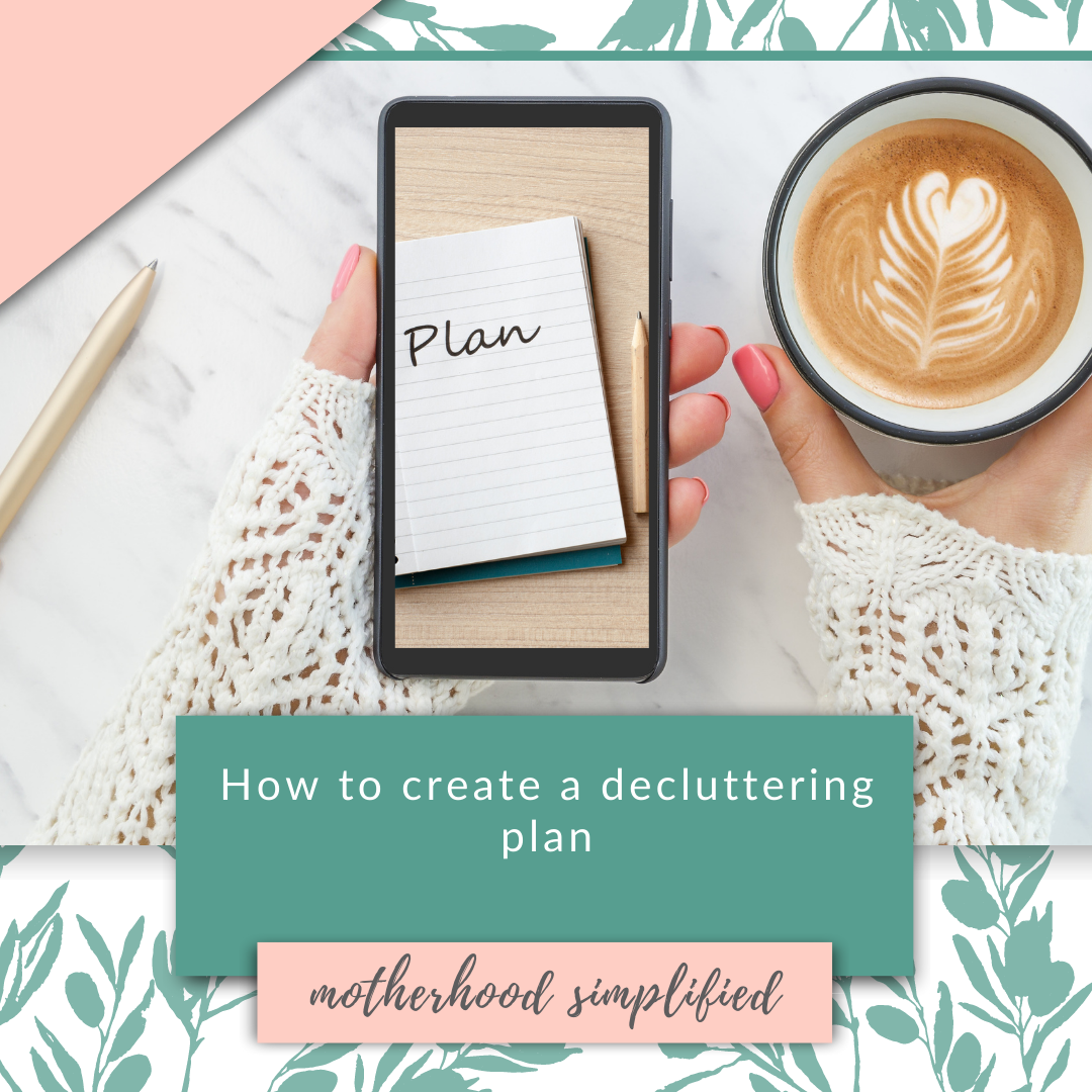 Learn exactly how to declutter your home. Decluttering needs to be broken down into bite-sized, tangible steps that you can actually complete. This is your decluttering plan. In this blog you can get my best decluttering checklists, decluttering plan, and learn how to organize your home once and for all.