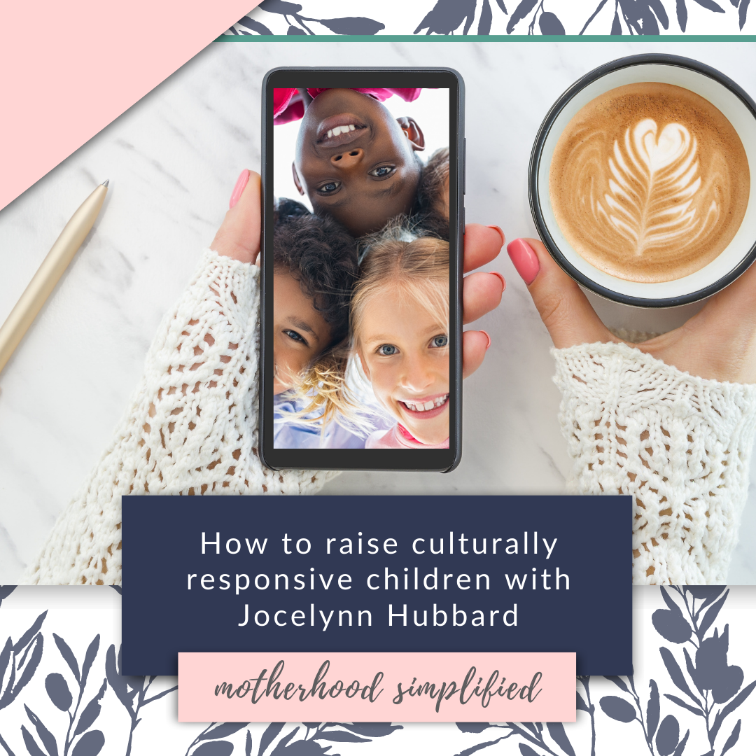 Jocelyn is a mother of 5, and a teacher who specializes in showing how teachers can create a culturally responsive classroom. She also homeschools and helps apply these same principles to the home.